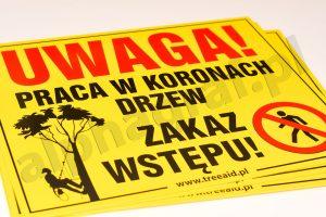 magnesy ostrzegawcze