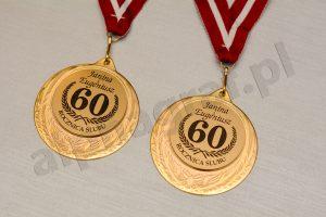 medale z okazji 60 rocznicy