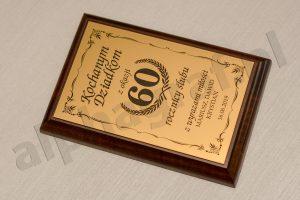 życzenia grawerton z okazji 60 rocznicy